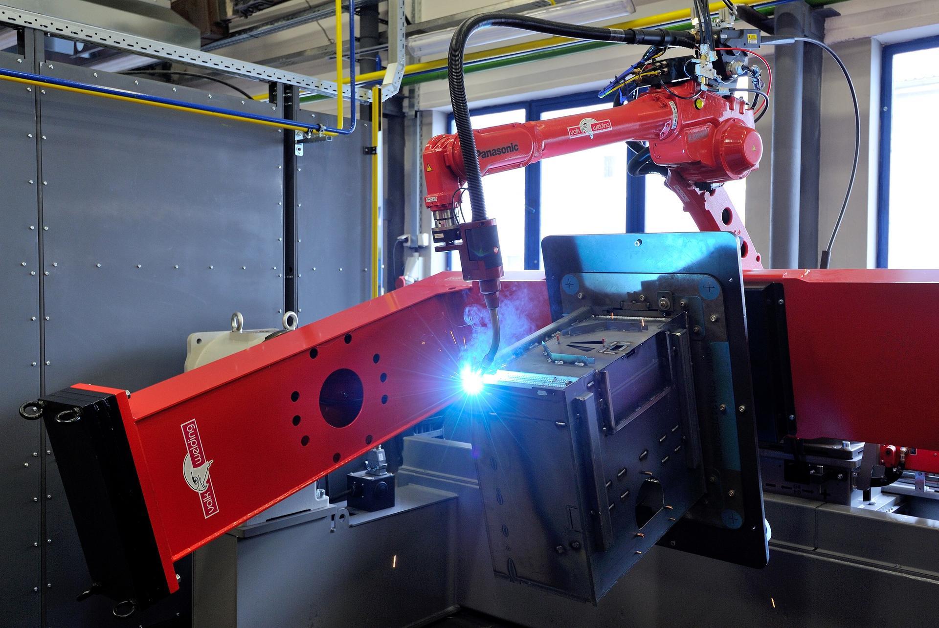 Svařovací robot v HAAS+SOHN Rukov