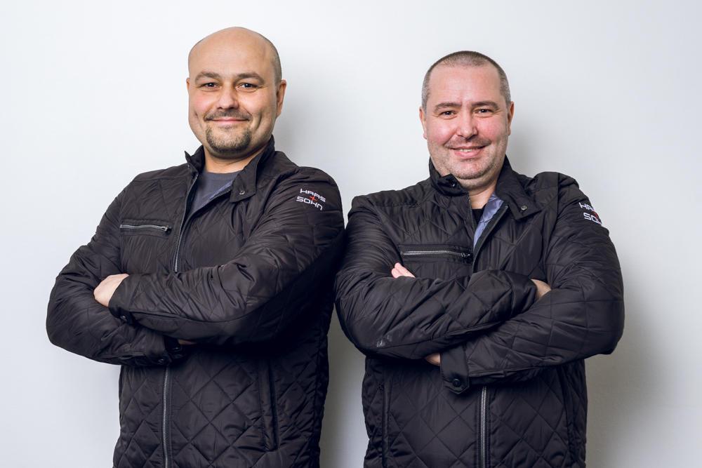 Haas sohn portrety-servisní tým